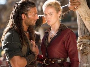 Black Sails' Vane and Eleanor