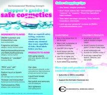 GLAM-EWG Shopper's Guide to Safe Cosmetics