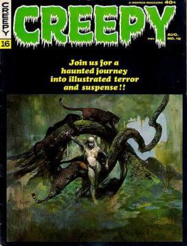 Halloween 2020 - Creepy (No 16 Aug 1967