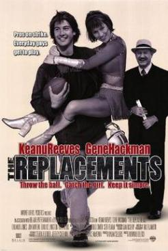 MOVIES - The Replacements (poster, Belair Entertainment)